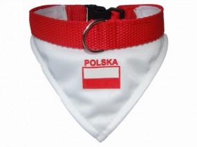 Obroża kibica POLSKA r.3