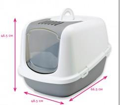 Toaleta, kuweta z filtrem węglowym SAVIC 66,5X48,5X46,5 np. Maine Coon jumbo