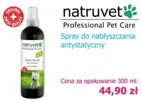 Spray nabłyszczający do sierści psa 300 ml