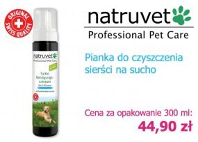 Pianka do czyszczenia sierści psa 300 ml
