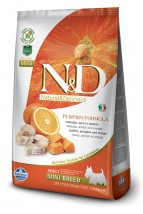 ND PUMPKIN Mini ADULT CODFISH 7kg dynia Grain Free