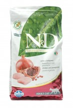 ND Chicken Pomegranate Grain Free 5kg Adult Cat Farmina