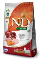 ND PUMPKIN Mini ADULT CHICKEN 7kg dynia Grain Free