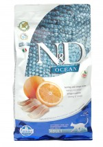 ND OCEAN HERRING Orange 1,5kg Grain Free