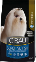 Cibau Sensitive FISH MINI 2,5kg Farmina z RYBĄ