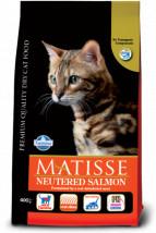Matisse Neutered SALMON 10kg z łososia Farmina dla sterylizowanych