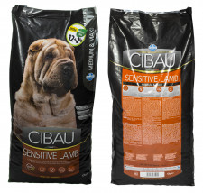 Cibau LAMB RICE 12kg + 2kg (14kg) Medium / Maxi Adult Farmina