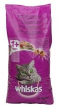 Whiskas 14kg KURCZAK with CHICKEN sucha karma dla kotów z kurczakiem